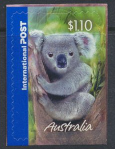 Australia  SC# 2363  MNH S/A on backing Koala  - see detail & scan