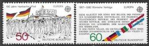 Germany  1372 -73  1982   set  2  VF NH