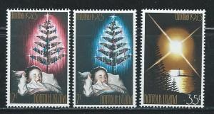 Norfolk Island 153-5 1973 Christmas set MNH