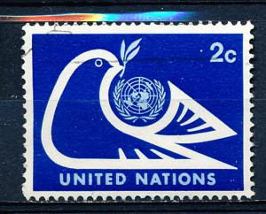 United Nations - New York #249 Single Used