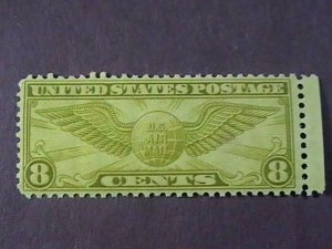 U.S.# C17--MINT NEVER/HINGED--OLIVE-BISTER---AIR-MAIL---1931(lot G)