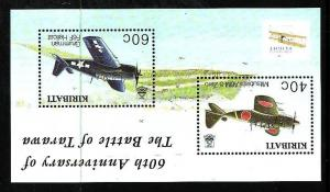 Kiribati-Sc#834-Unused NH sheet-Planes-Powered Flight-2003-