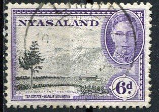 Nyasaland 1945: Sc. # 74: O/Used Cpl. Set