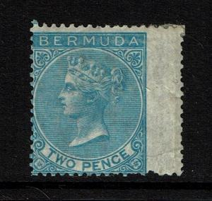Bermuda SG# 3 - Mint Hinged / Small Hinge Rem / Wing Margin (Notes) - Lot 090317