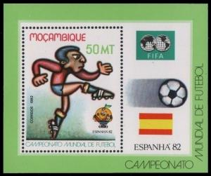1982Mozambique889/B13bFIFA / 1982 World championship on football of Spanien5