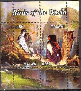 Malawi 2011 Birds of Prey (6) MNH Cinderella !