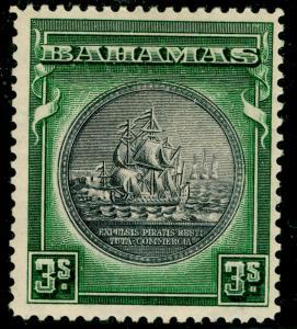 BAHAMAS SG132, 3s slate-purple & myrtle-green, M MINT. Cat £29.