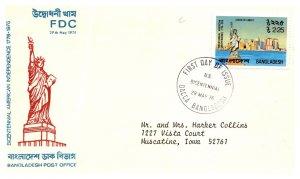Bangladesh, Worldwide First Day Cover, Americana