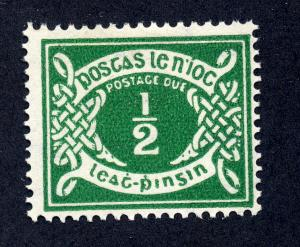 Ireland 1940 sg D5 - 1/2d green postage due , fine LM