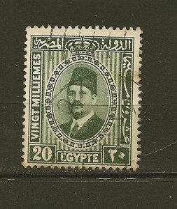 Egypt 142 King Fuad Used