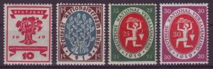 GERMANY Reich 1919 Mi# 107-110 MNH (1000)