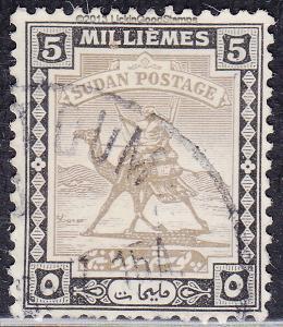 Sudan 83 USED 1948 Camel Post
