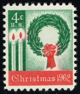 US #1205 Wreath & Candles; MNH (3Stars)