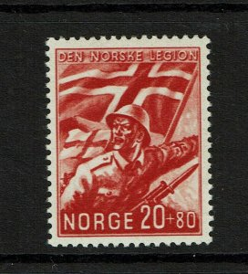 Norway SC# B24, Mint Lightly Hinged - S9409
