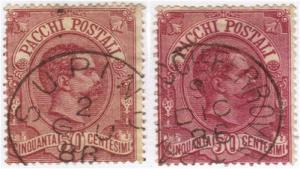 Italy #Q3 two good postmarks