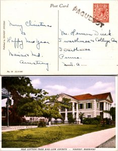 1932 Great Britain to Cuba Paguebot on Picture Postcard ( Postal History ), 1932