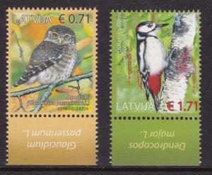 Latvia, Fauna, Birds MNH / 2016