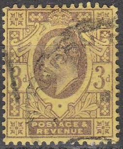 Great Britain #132 F-VF Used CV $19.00 (A16191)