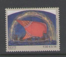 Estonia Sc 654 2010 9k Lennuk by Triik stamp mint NH