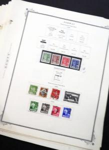 EDW1949SELL : NORWAY Mint & Used collection on Scott pgs Majority of Mint are NH