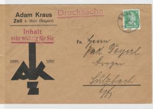 German Postal History Stamps Cover Ref: R4727