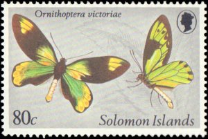 1980 Solomon Islands #431-434, Complete Set(4), Never Hinged