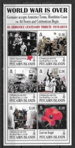 Pitcairn Islands 849 100th WWI s.s. MNH (lib)