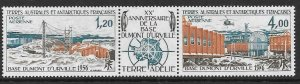 FRENCH SOUTHERN & ANTARCTIC TERRITORIES SG107a 1976 DUMONT D'URVILLE BASE MNH
