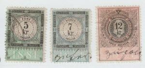 Austria Cinderella Revenue Fiscal stamp 9-19-21 as seen- 4c