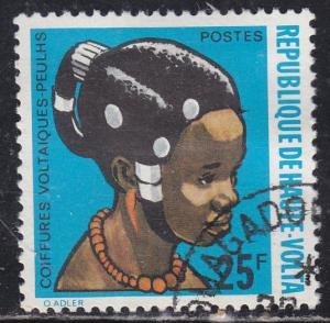 Burkina Faso 272 African Hair Styles 1972