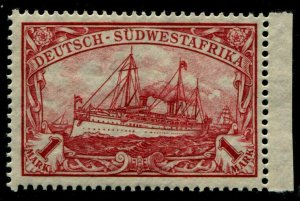 HERRICKSTAMP GERMAN SOUTH WEST AFRICA Sc.# 31 Marginal Mint NH