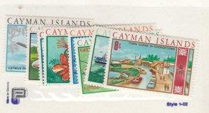 CAYMAN ISLANDS (MK6650,A) # 262-276 VF-MNH VARc 1970 TYPE OF 1969 CENTS/$ CV $12