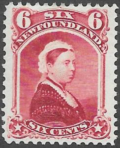 Newfoundland Scott Number 36 VF H