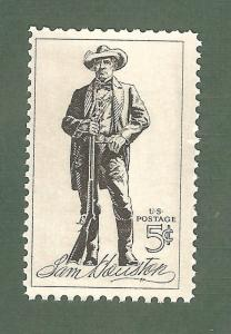 1242 Sam Houston US Postage Single Mint/nh (Free Shipping)