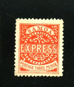 SAMOA #3c MINT F-VF NO GUM Cat $450