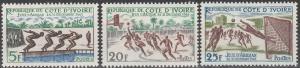 Ivory Coast #193-5  MNH F-VF (V451)