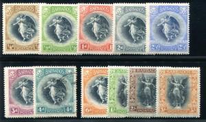 Barbados 140-150 Mint LH (ex 4p)