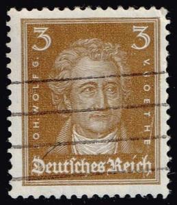 Germany #351 Johann Wolfgang von Goethe; Used (0.40)