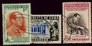 Cuba SC#463-465 Used VF...Worth a close look!!