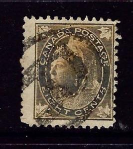 Canada 72 Used 1897 issue