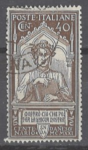 COLLECTION LOT # 2427 ITALY #135 1921 CV=$32