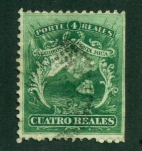 Costa Rica 1863 #3 U** SCV (2020) = $16.00