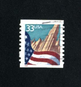USA # 3280  2  used 1999 PD .08