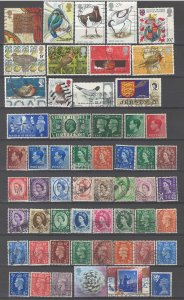 COLLECTION LOT # 53L GB 90 STAMPS CLEARANCE