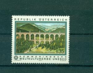 Austria - Sc# 1845.  2001 Sammering Railway Bridge. MNH $8.50
