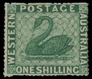 Australia / Western Australia Scott 24D Gibbons 46 Mint Stamp
