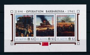 [81031] St. Kitts 2011 Second World war Operation Barbarossa Sheet MNH