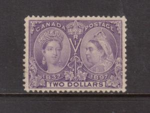 Canada #62 Very Fine Mint **With Certificate**