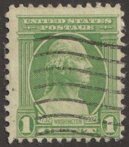USA stamp, Scott# 705, used, hinged, single stamp, #x-68