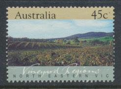 Australia SG 1348  Used  - Vineyard Regions